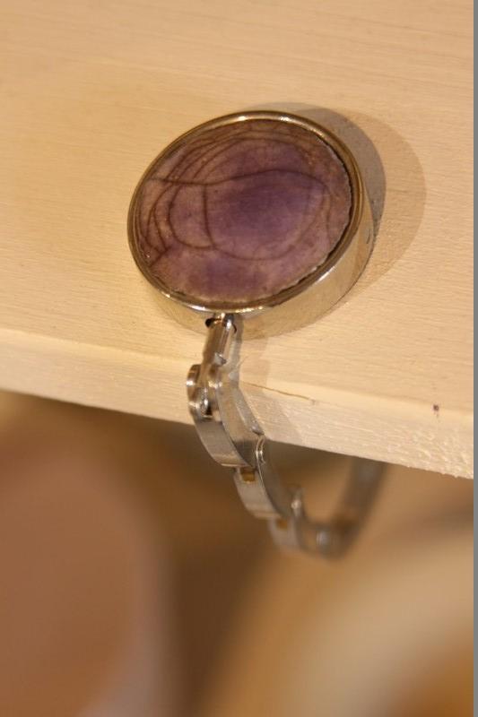porte sac violet